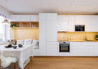 Příběh jedné kuchyně s obývákem